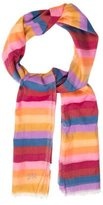 Sonia Rykiel Multicolor Striped Scarf