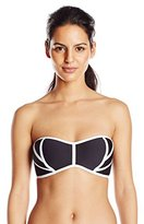 Robin Piccone Women's Britt Bandeau Bikini Top