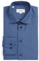 Eton Men's Slim Fit Check Dress Shirt