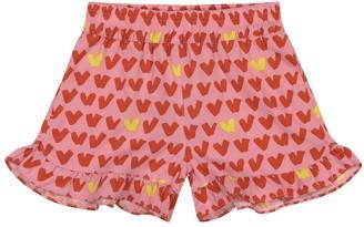 Stella McCartney Kids Heart-print shorts