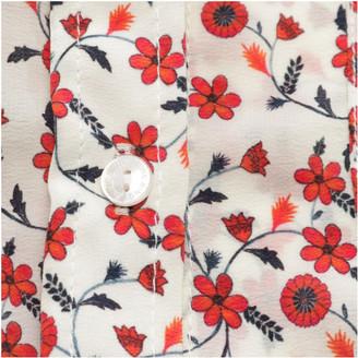 Anine Bing Red Silk Tops
