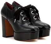 Marc Jacobs Patent Leather Platform Oxford Shoes