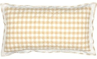 Buffalo David Bitton Caulder Check Sham August Grove Size: Standard, Color: Tan