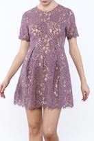 Lush Lavender Lace Dress