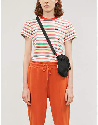 Stussy Striped cotton-jersey T-shirt