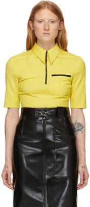 Kwaidan Editions Yellow Light Wool Short Sleeve Shirt