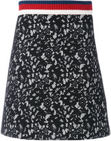 Gucci floral skirt - women - Cotton/Polyamide/Polyester/Viscose - S