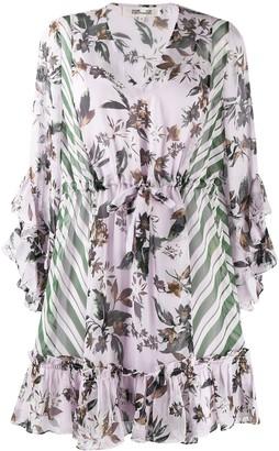 Dvf Diane Von Furstenberg Floral Print Dress