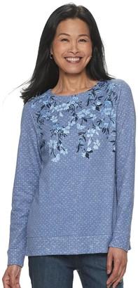 Croft & Barrow Women's Extra Soft Sweatshirt