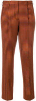 Etro slim fit patterned trousers - women - Polyester/Spandex/Elastane/Wool - 38