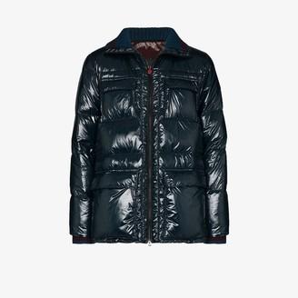 Kiton Zip-Up Puffer Jacket