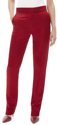 Helmut Lang Straight-Leg Satin Pants