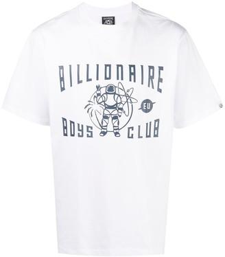 Billionaire Boys Club Greetings logo print T-shirt