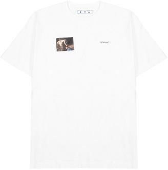 Off-White Caravaggio white printed cotton T-shirt
