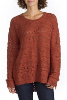 UNIONBAY Pointelle Beverly Sweater