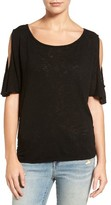 Velvet by Graham & Spencer Women's Cold Shoulder Tee