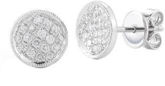 Nephora 14K 0.30 Ct. Tw. Diamond Circle Studs