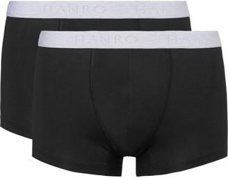 Hanro Two-Pack Stretch-Cotton Boxer Briefs