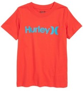 Hurley Boy's One And Only Logo T-Shirt