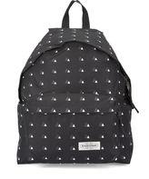 Eastpak Black Triangle Patterns Padded Pak'R Backpack 24 L