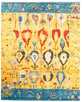 F.J. Kashanian Ikat Hand-Knotted Wool Rug