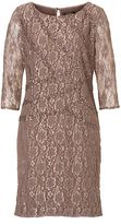 Vera Mont Embellished lace dress