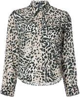 Smythe leopard print shirt
