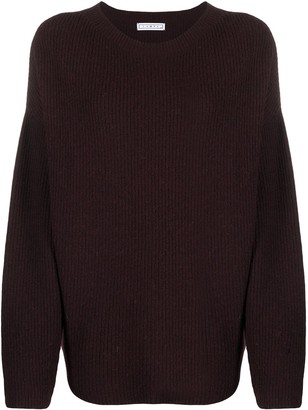 In The Mood For Love Ribbed Knit Jumper