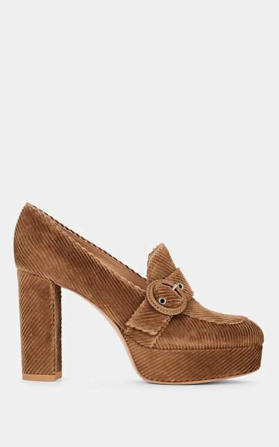 Gianvito Rossi Women's Julian Suede Ankle Boots - Brown
