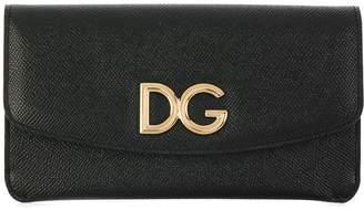 Dolce & Gabbana logo flap purse