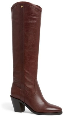 Claudie Pierlot Leather Knee-High Boots 70