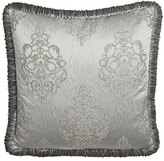 Dian Austin Couture Home Venetian Glass Plisse European Sham with Jumbo Velvet Welt
