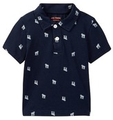Joe Fresh Allover Print Polo (Toddler & Little Boys)