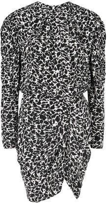 Etoile Isabel Marant Selywyn printed mini dress