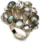 Alexis Bittar Arrayed Stone Cocktail Ring