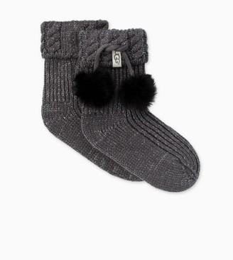 UGG Rahjee Pom-Pom Rainboot Sock