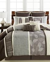 Sunham CLOSEOUT! Clarkson 10-Pc. Full Comforter Set