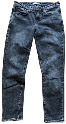 Levi's Made & Crafted Grey Cotton Jeans for Women
