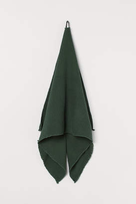 H&M Waffled Bath Towel - Green