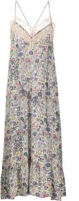 Zadig & Voltaire Floral Slip Dress