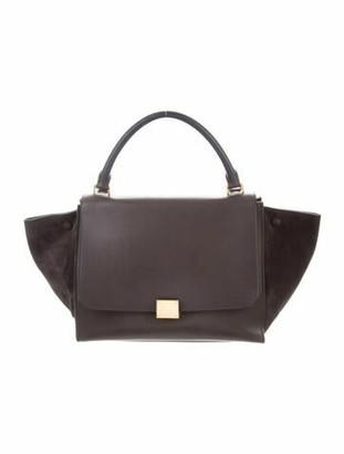 Celine Small Trapeze Bag Grey