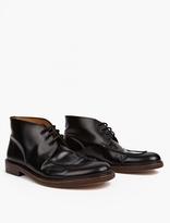 A.p.c. Black Leather Corentin Boots
