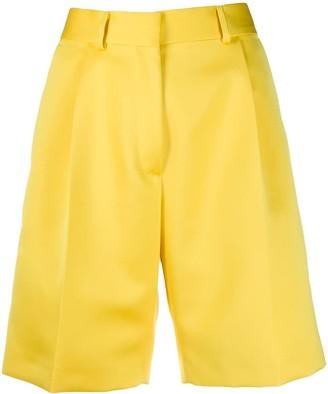 Heron Preston Mikado knee-length shorts