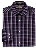 Michael Kors Boys' Plaid Dress Shirt - Big Kid