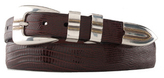Johnston & Murphy Lizard-Grain Ranger Belt