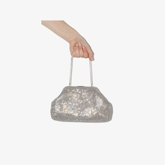 Black & Brown metallic Nina crystal bag