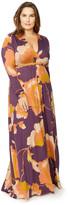 Rachel Pally Long Sleeve Full Length Caftan WL Print