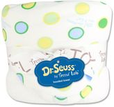 """Trend Lab Dr. Seuss """"Oh, The Places You'll Go!"""" Hooded Towel by Blue"""