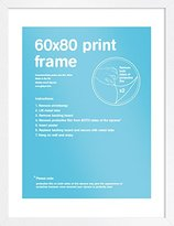 Camilla And Marc GB eye 60 x 80 cm FMSBA1WH Print Frame