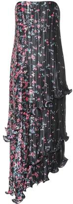 Givenchy Floral plisse midi dress